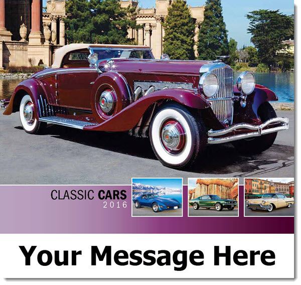 Classic Cars - 2016 Promotional Calendar