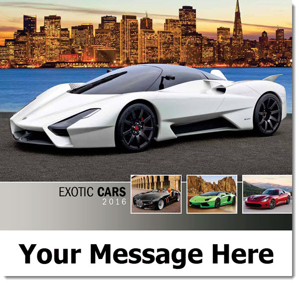 Exotic Cars Promo Calendars 2016 Cover