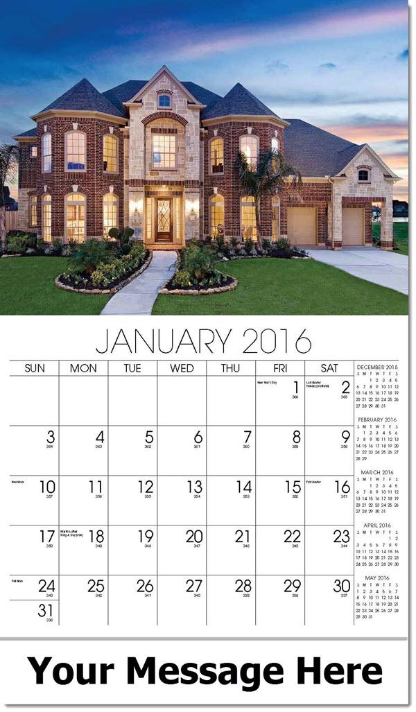 real estate wall calendars promo advertising calendars for