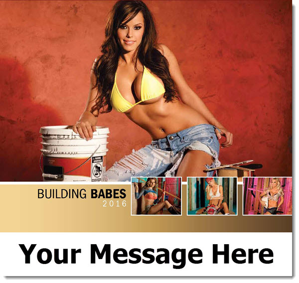 Building Babes - 2016 Promotional Calendar
