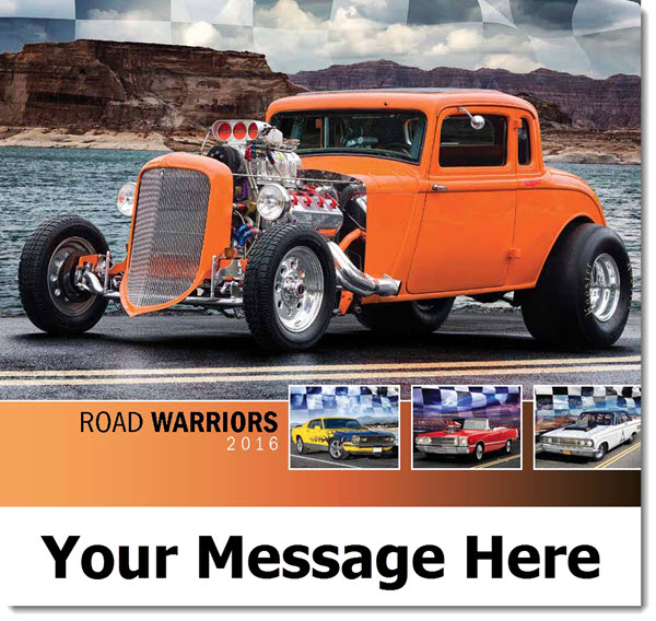 Muscle Cars & Hot Rods Promo Calendars 2016 Cover