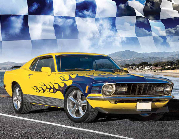 August 2016 - 1971 Ford Mustang Mach 1