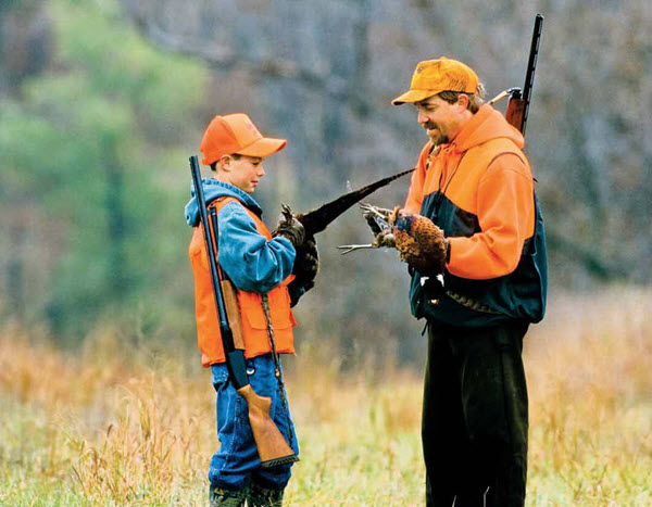 August 2016 - father and son hunters