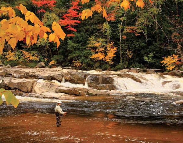 November 2016 - man fishing in autumn