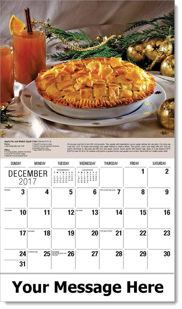 Promo Calendars 2017 - Apple Pie - December_2017