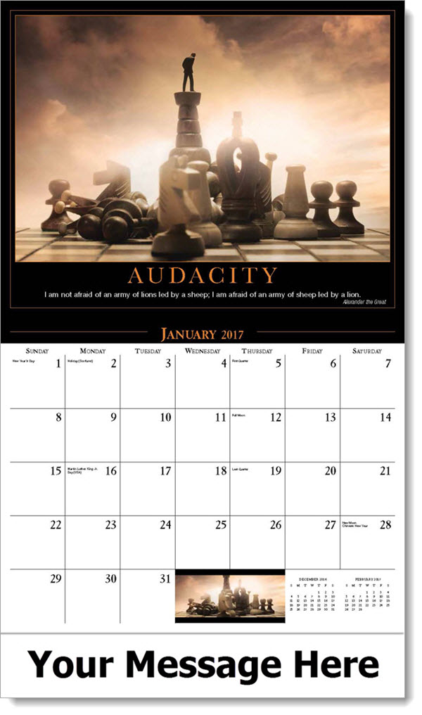 Inspirational Quotes Calendar : Motivation quotes calendar inspirational