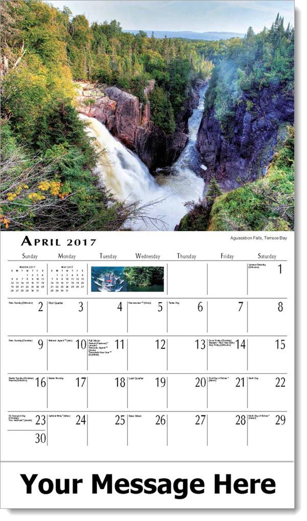 Calendar Ontario : Scenes of ontario canada calendar scenic