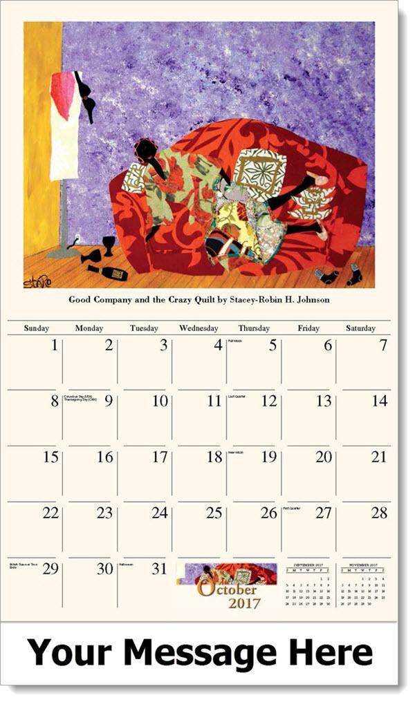 African American Art Calendar Black Art Calendar Promo