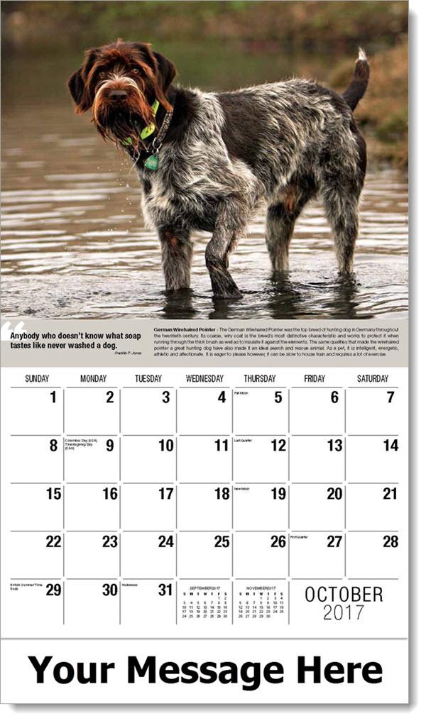 Dogs Calendar Quot Man S Best Friend Quot Imprinted Dog Calendars
