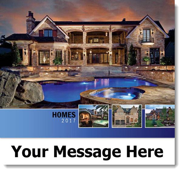 Unique Luxury Homes: Luxury Custom Home Wall Calendars