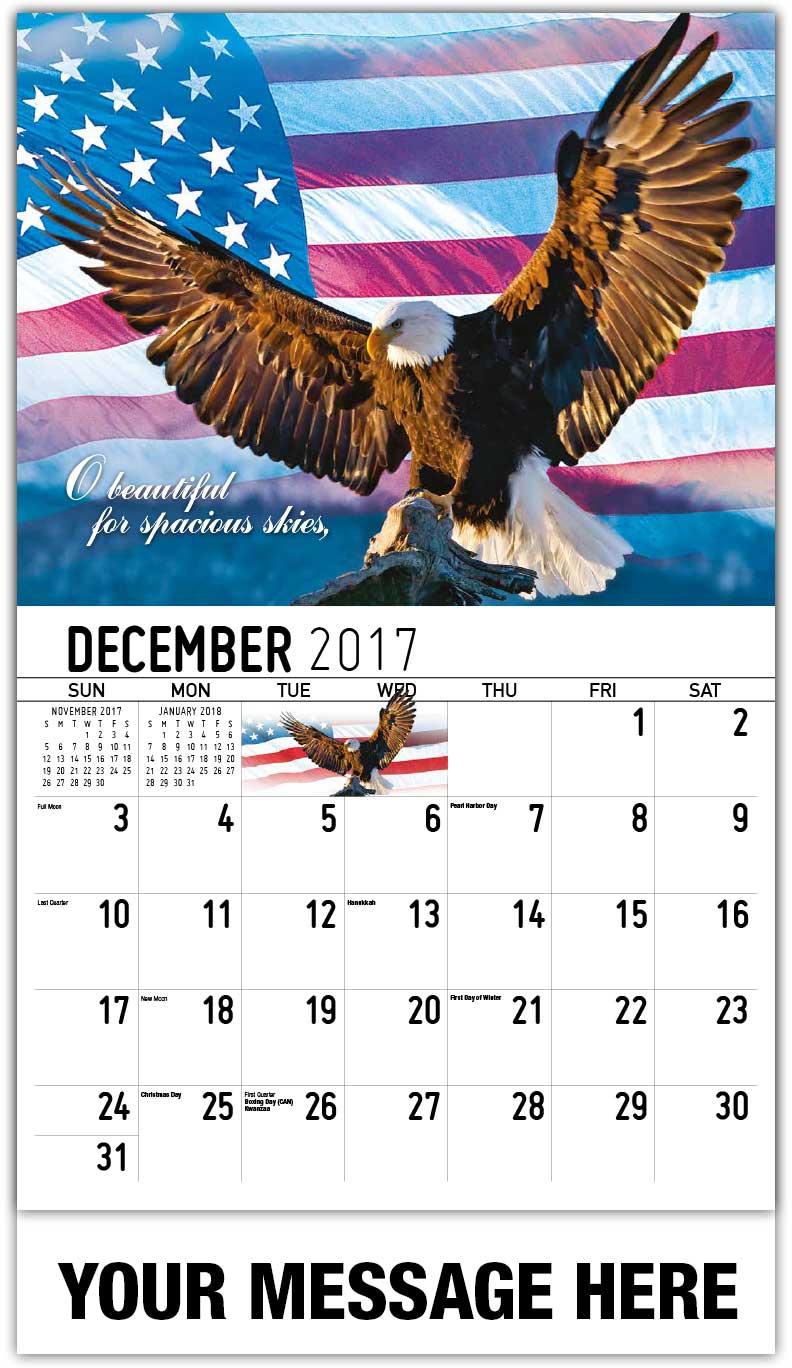 America The Beautiful Patriotic Calendars Us Patriotism