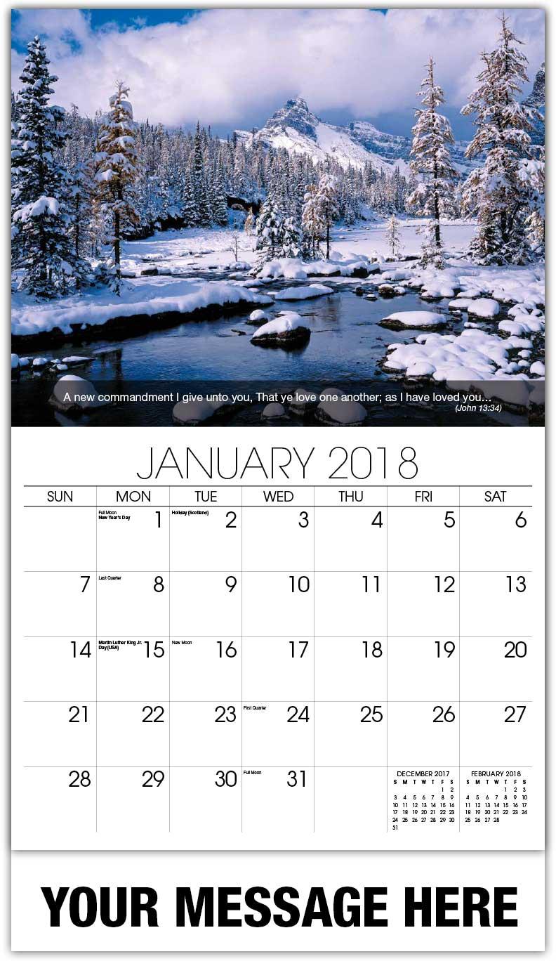 Photo Wall Calendars fundraising calendars   65¢ christian advertising calendars