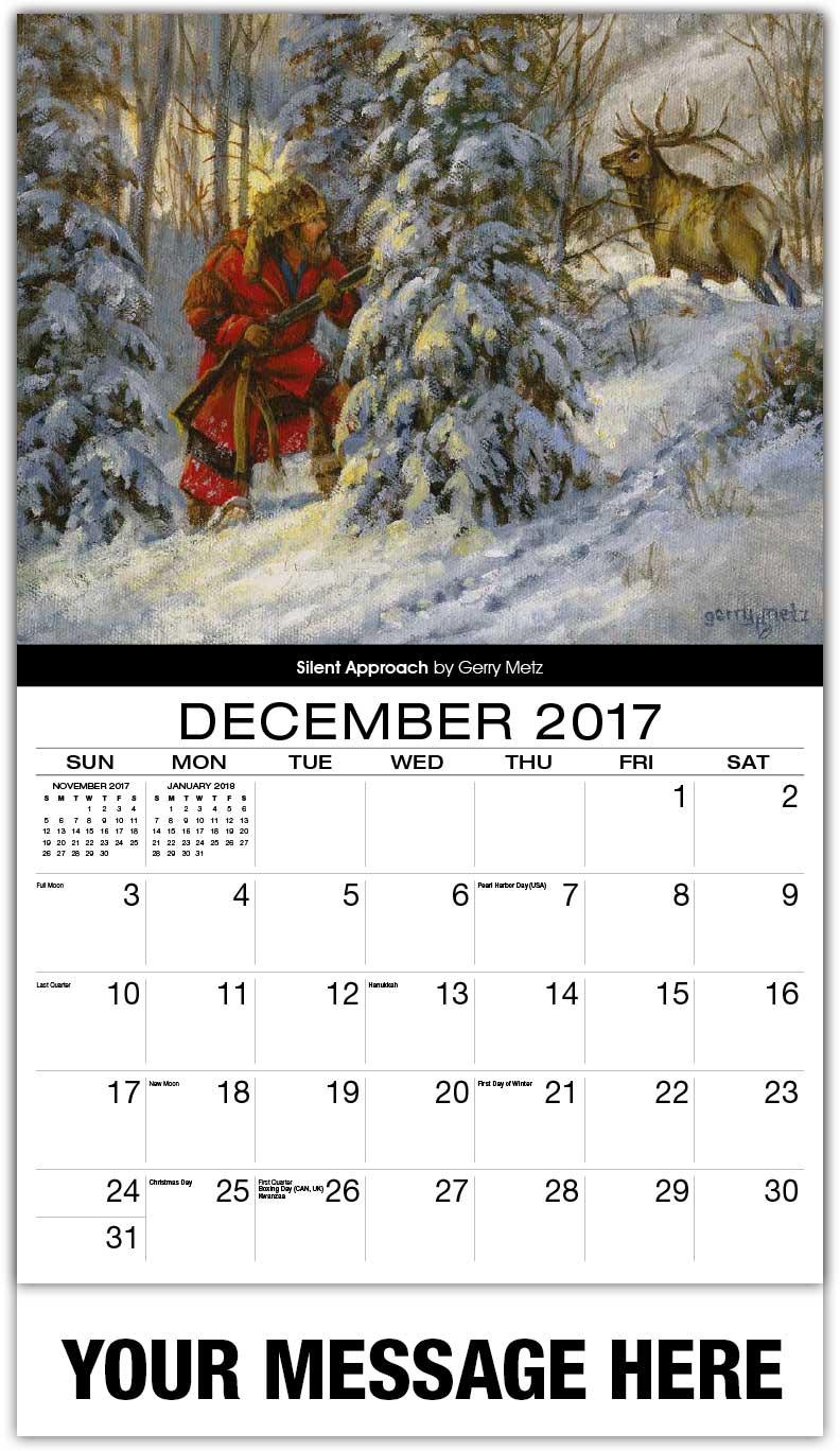 Art Calendar : Old west art calendar spirit of the promotional