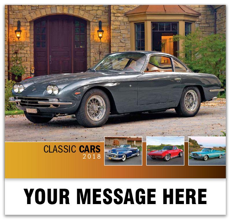 Classic Cars Calendar | 65¢ Business Advertising Promo Calendars