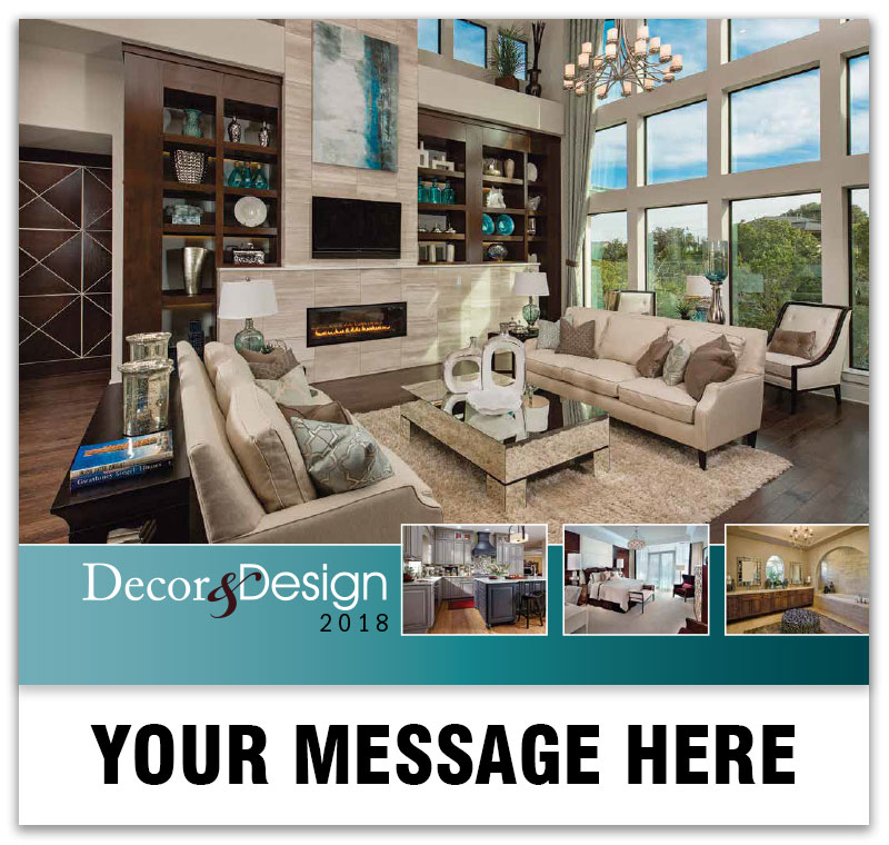 Interior Design 2018 Promotional Wall Calendars