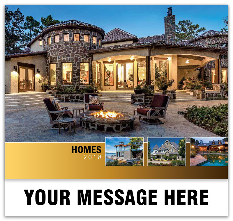 Real Estate Calendar Design : Luxury custom home wall calendars ¢ promo advertising