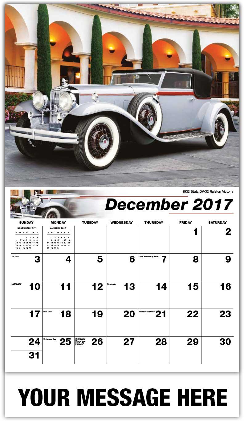 Enchanting Vintage Car Calendar Collection - Classic Cars Ideas ...