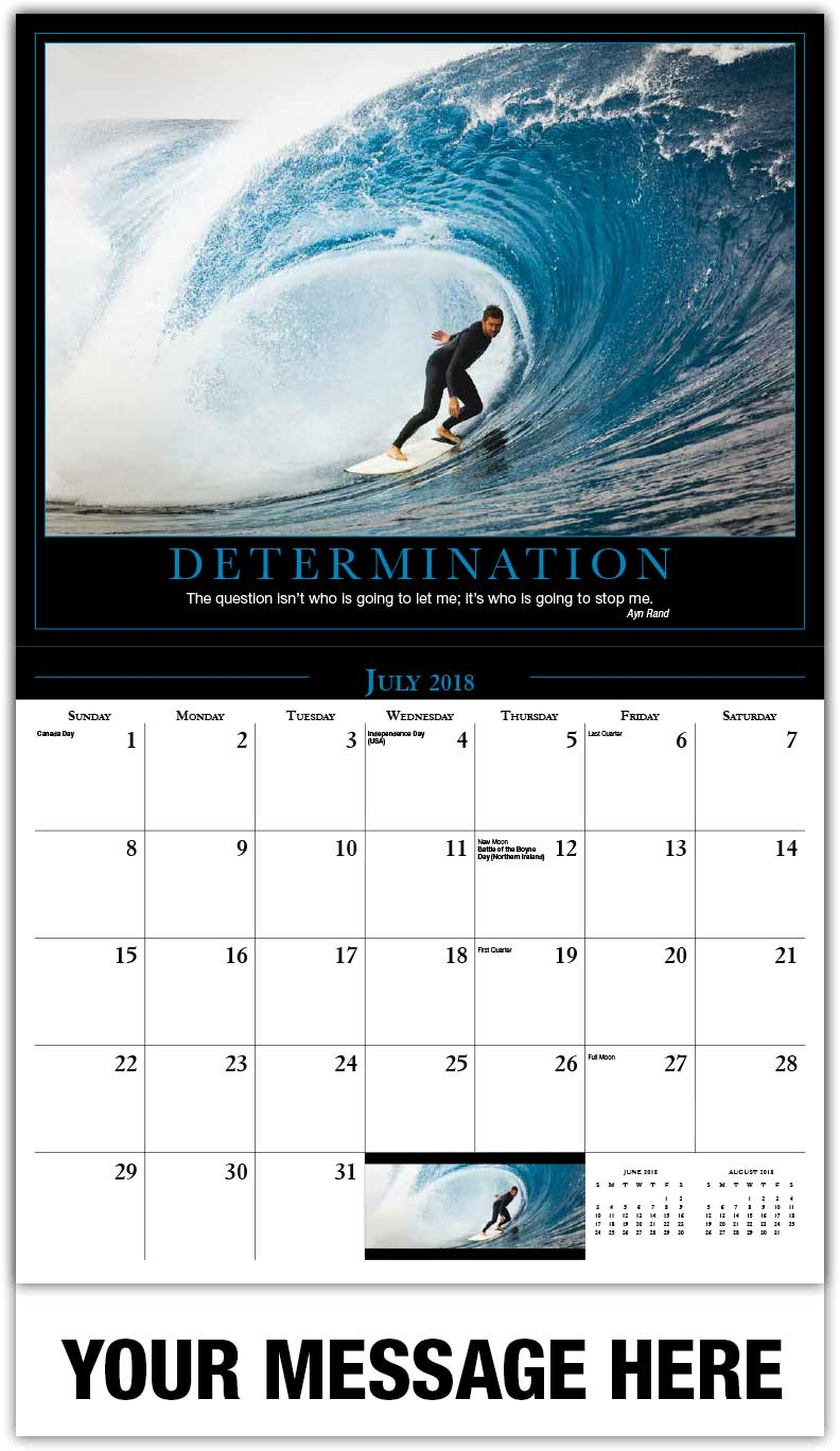 motivational quotes calendar