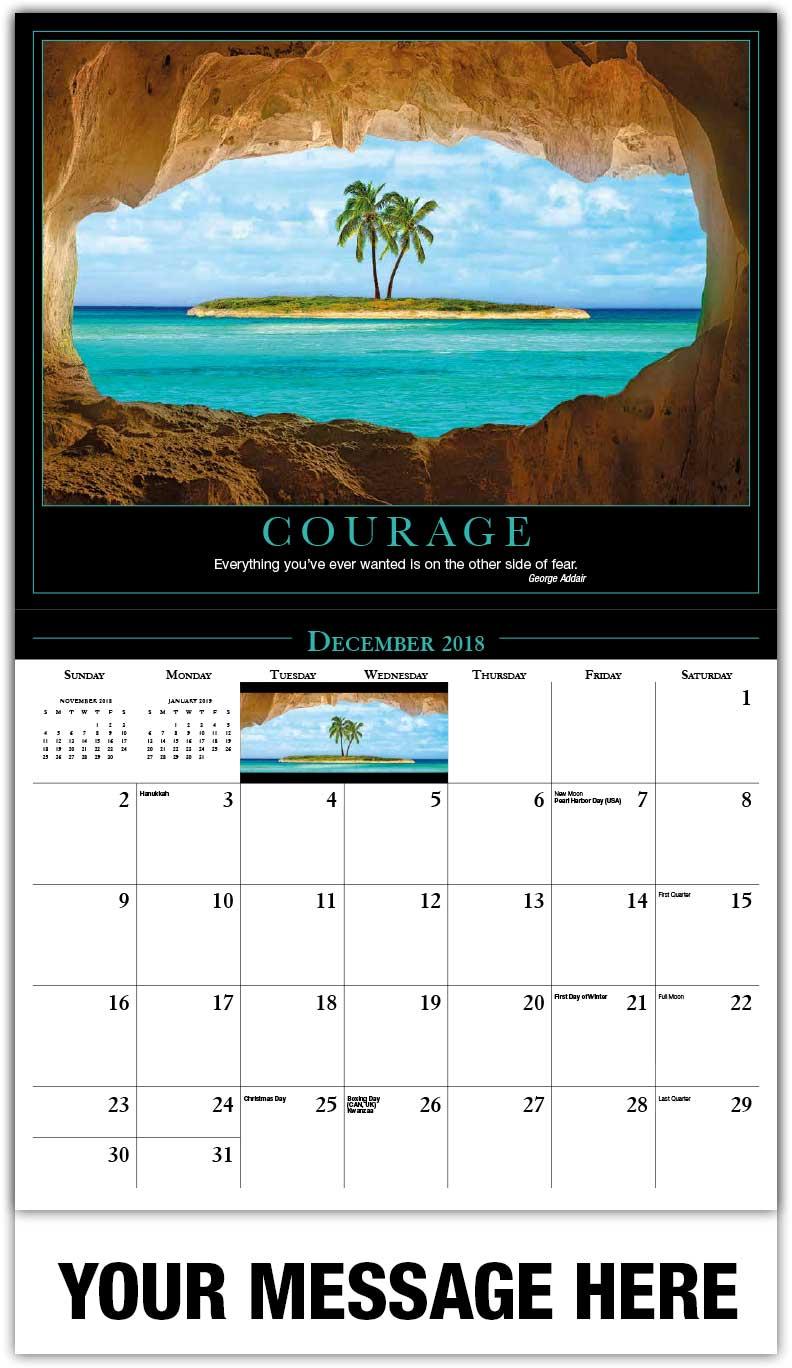 Coupon calendar