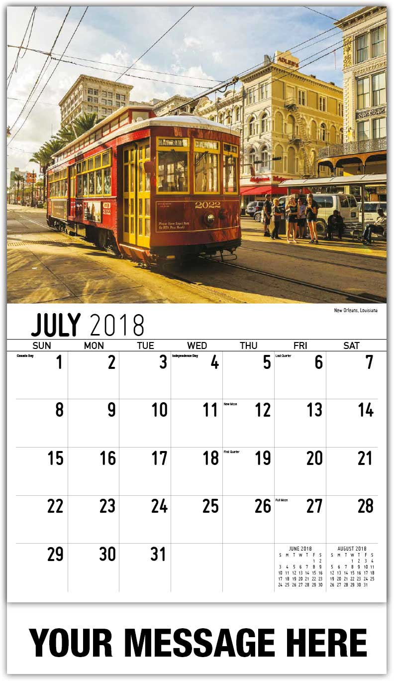 April Calendar New Orleans : Southeast united states scenic calendar ¢ business