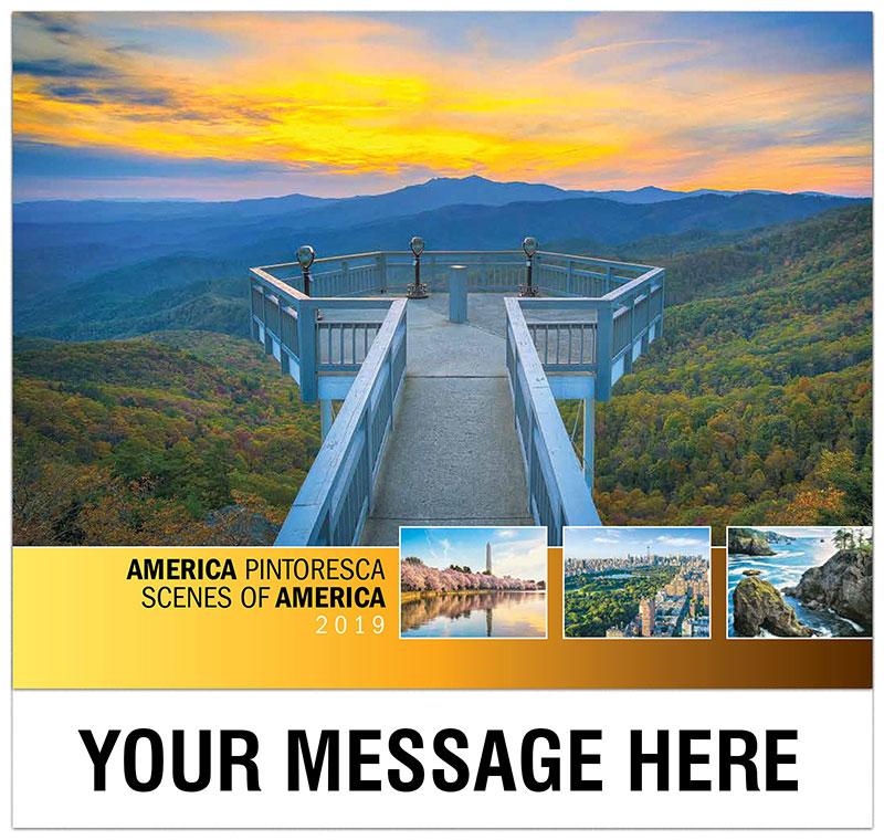 Scenes of America (Spanish-English bilingual)
