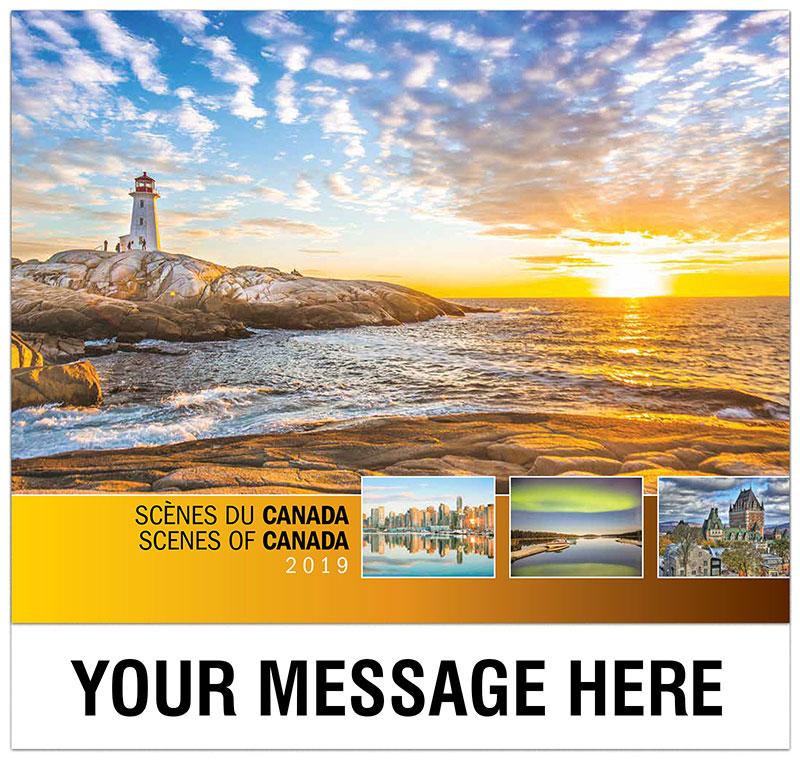 Scenes of Canada(French-English bilingual)