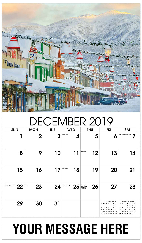 2019 Advertising Calendar - Winter Light - December_2019