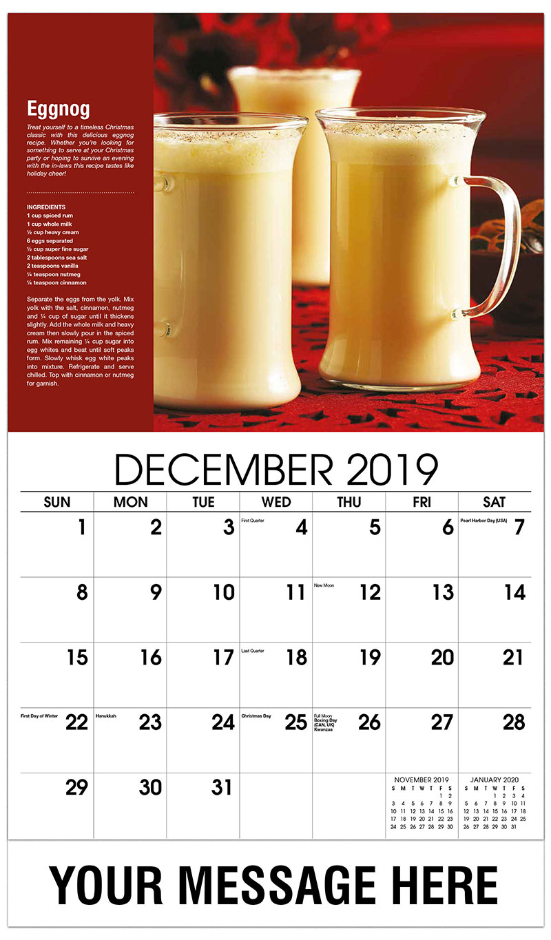 cocktail and drink recipes calendar 65162 business