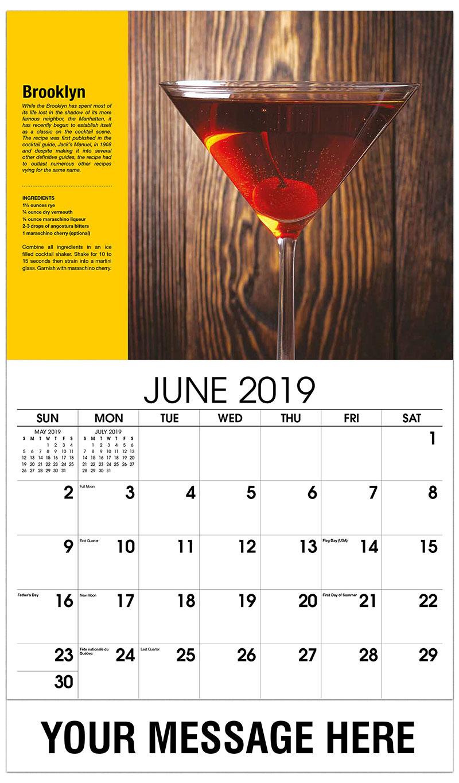 2019 Promo Calendar - Brooklyn - June