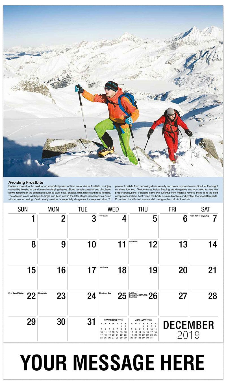 2019 Advertising Calendar - Mountain Climbers - December_2019