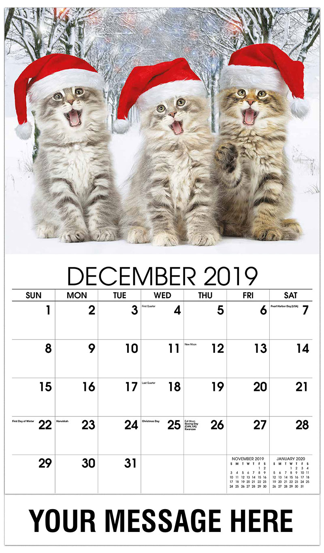 kittens promotional calendar