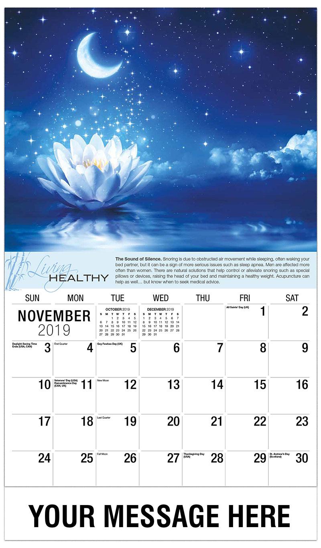 Holistic Health And Wellness Promotional Calendar 65