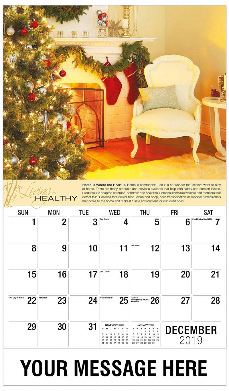 2019 Advertising Calendar - Christmas Home - December_2019
