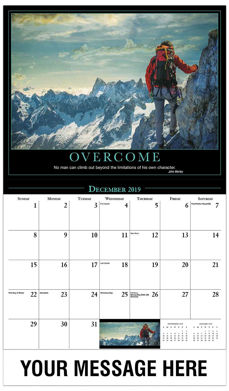 Moving Company Quotes >> Motivational Quotes Calendar | 65¢ promotional calendar ...