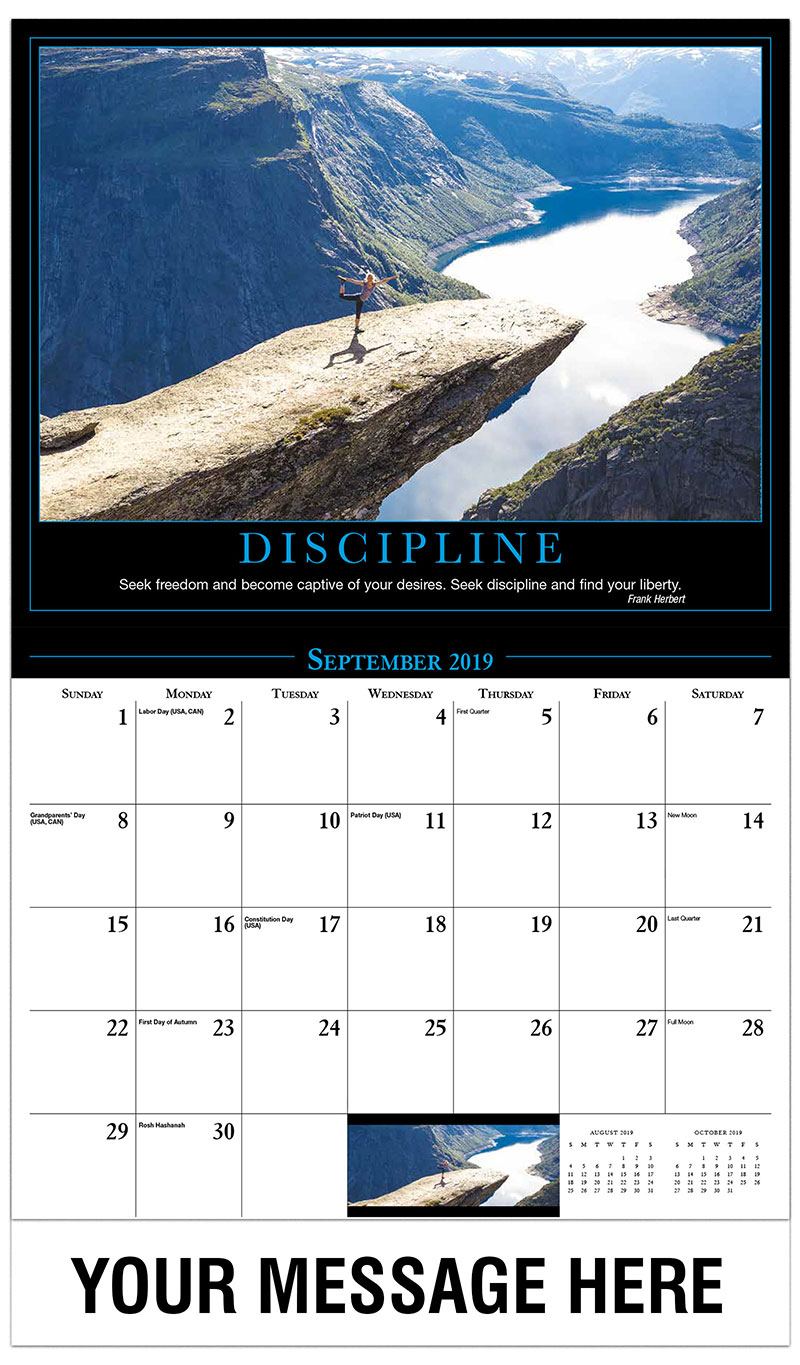 motivational quotes calendar