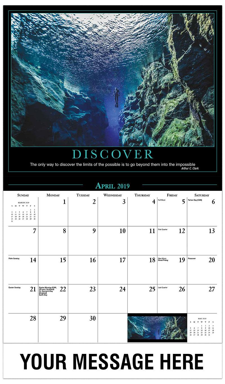 2019 Promo Calendar - Free Diving - April