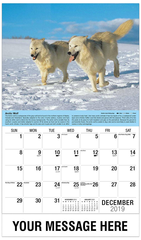 2019 Advertising Calendar - Grey Wolves - December_2019