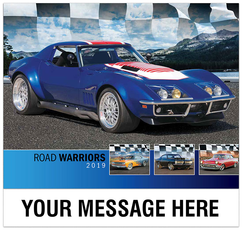2019 Promotional Calendar - Imprinted with your Business, Organization or Event Name, Logo and Message - Cover