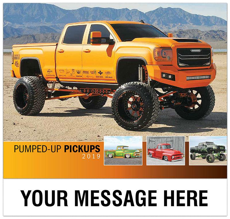 Pickup Trucks 2019: Custom Pickup Truck Promotional Calendar