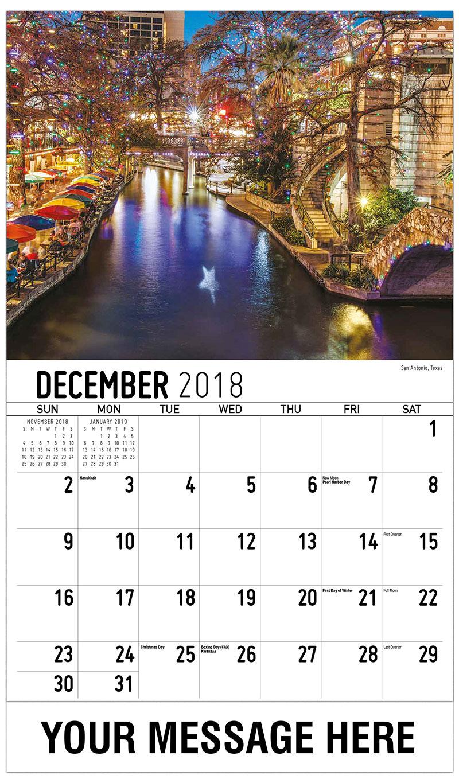 2019 Promo Calendar - San Antonio, Texas - December_2018