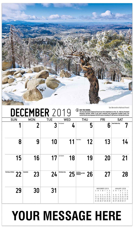 Scenes of California Promotional Calendar   65¢ California ...