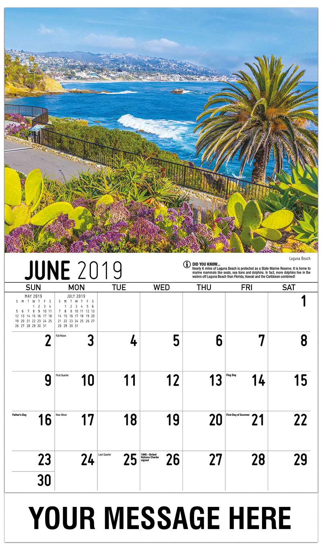 2019 Promo Calendar - Laguna Beach - June