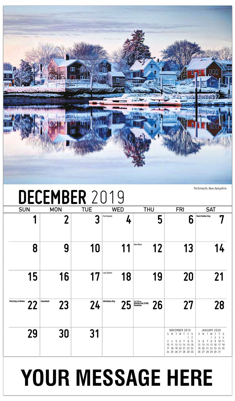 2019 Advertising Calendar - Portsmouth, New Hampshire - December_2019