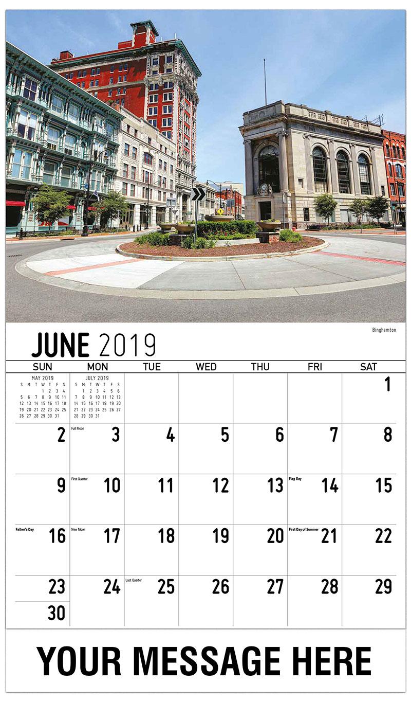 2019 Promotional Calendar - Binghamton - June
