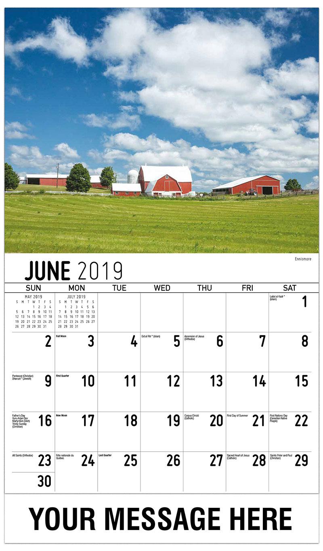 2019 Promo Calendar - Ennismore - June