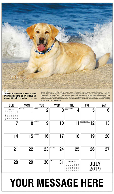 Calendar Dogs : Dogs promotional calendar ¢ business advertsing