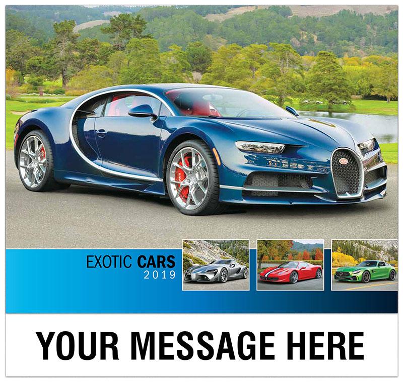 Exotic Car Promotional Calendar