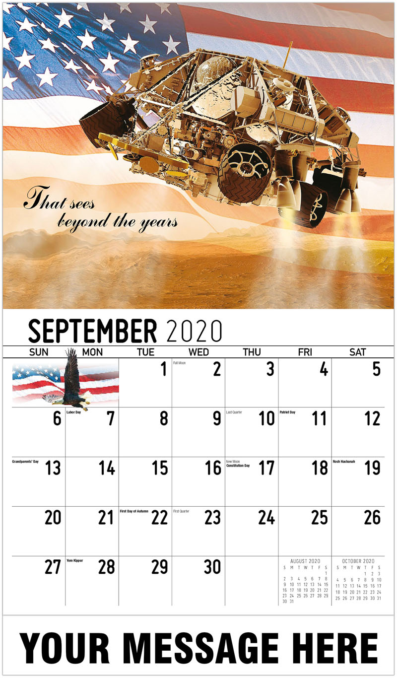 2020 Business Advertising Calendar - That Sees Beyond The Years - September