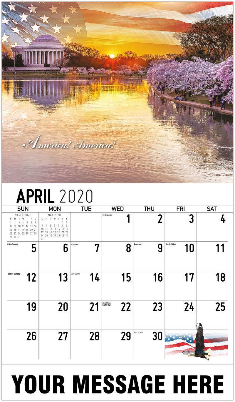 2020 Promo Calendar - America! America! - April