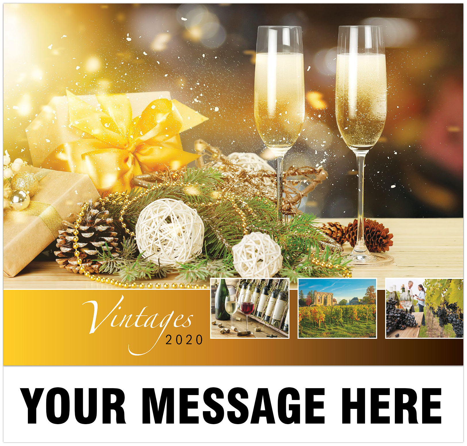 2020 Promotional Calendar - Imprinted with your Business, Organization or Event Name, Logo and Message - Cover